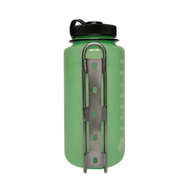 Nalgene Bottle in LiterCage, Back View