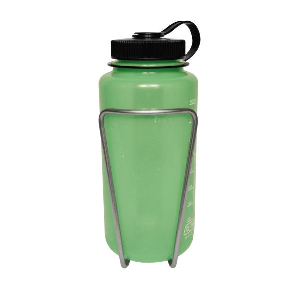 Nalgene Bottle in LiterCage, Front View