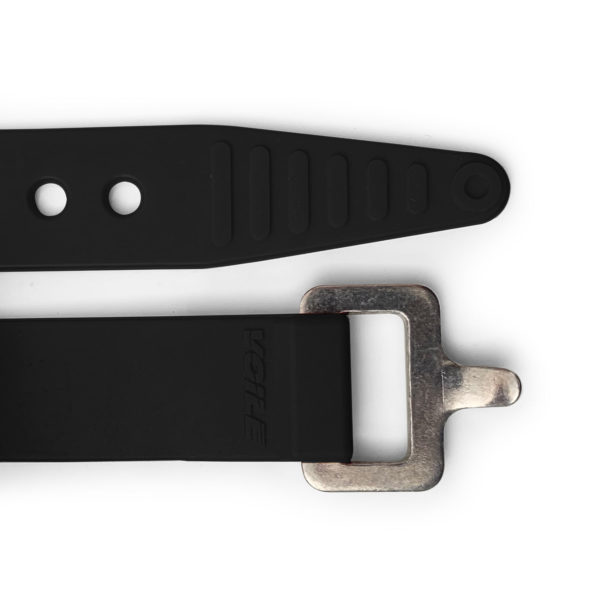 Black Voile Strap with Aluminum Buckle