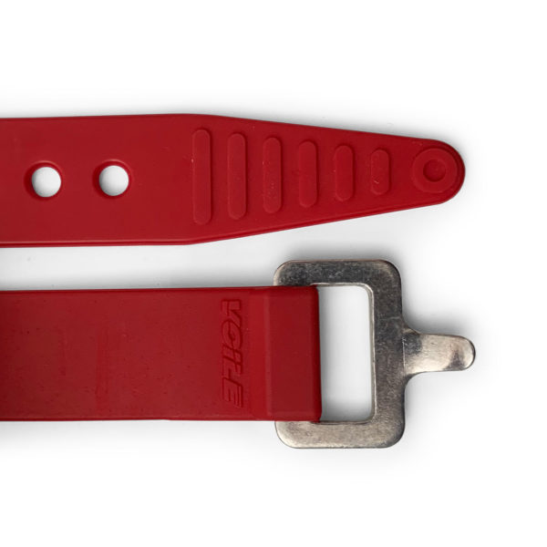 Red Voile Strap with Aluminum Buckle